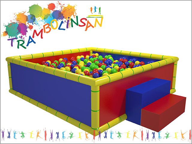 1225 - Soft Play Top Oyun Havuzu (Kare)