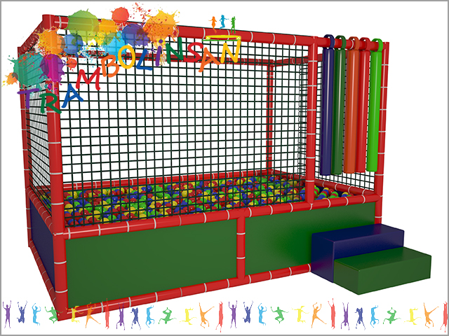 1234 - Fileli Top Oyun Havuzu (Soft Play)
