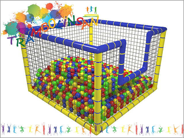 1231 - Top Oyun Havuzu Fileli (Soft Play)