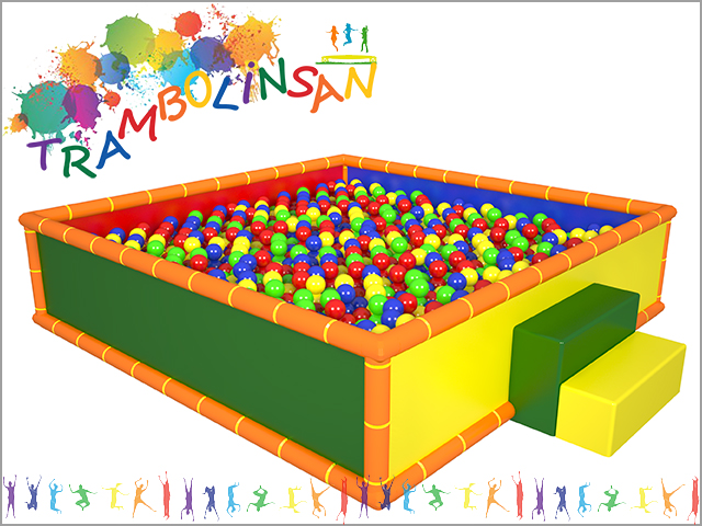1226 - Soft Play Top Oyun Havuzu (Kare)