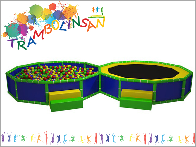 1229 - Soft Play Oyun Havuzu - Trambolin
